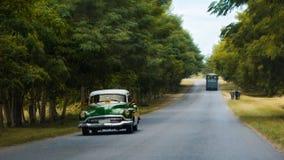 Kubanen taxar Fotografering för Bildbyråer