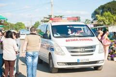Kubaner Ambulancia stockfotografie