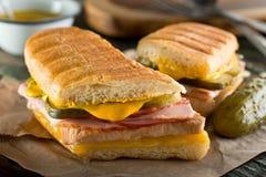 Kubaner Cubano-Sandwich Stockbild