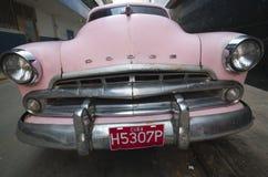Kubanische alte Autos lizenzfreie stockfotografie