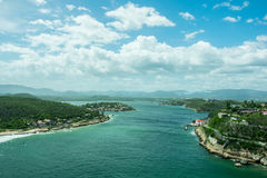 Kubanische Küste Lizenzfreie Stockfotografie