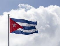 Kubanische Markierungsfahne Stockfoto