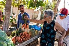 Kubanischer Markt Lizenzfreie Stockfotos