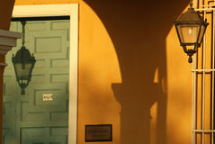 Kubanischer Sonnenuntergang Lizenzfreies Stockfoto