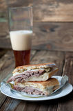 Kubanisches Sandwich Stockfotos