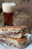 Kubanisches Sandwich Lizenzfreie Stockfotografie