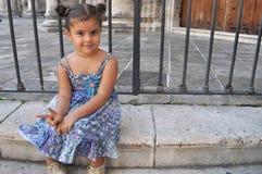 Kubansk flicka Royaltyfri Fotografi