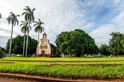 Kubansk stad Fotografering för Bildbyråer