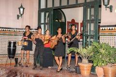 Kubansk stil för underhållning Royaltyfri Foto