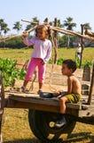 Kubanska barn Royaltyfria Foton