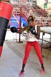 Kubanska boxare i havannacigarr Fotografering för Bildbyråer