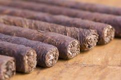 kubanska cigarrer Arkivfoto