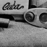kubanska cigarrer Royaltyfri Fotografi