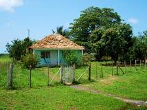 Kubanskt hus Arkivfoton