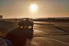 Kubas klassiska bilar Arkivfoton