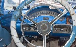 Kubas klassiska bilar Arkivbilder