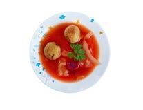 Kubbeh soppa Arkivbild