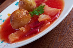 Kubbeh soup Royalty Free Stock Images