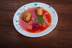 Kubbeh soup Royalty Free Stock Photos
