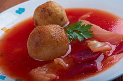 Kubbeh soup Stock Image