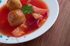 Kubbeh soup Stock Images