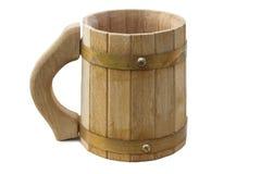 kubek drewna Zdjęcie Stock
