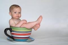 kubek dziecka Zdjęcie Stock