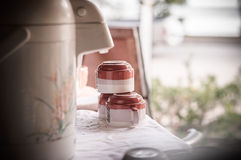 kubek herbaty spodeczków 3 Obraz Stock