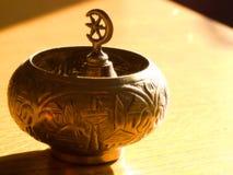 kubek herbaty tureckiej słodyczy Obrazy Royalty Free