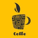 Kubek kawa z parowym wydźwignięciem up Zdjęcia Royalty Free