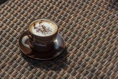 Kubek Kawowy Latte Zdjęcie Stock
