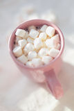Kubek z marshmallows Zdjęcie Royalty Free