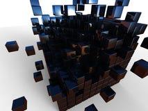 Kuben av kuben Arkivbilder