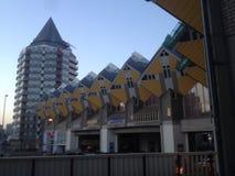 Kuben inhyser Rotterdam Royaltyfri Foto