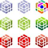 kuber stock illustrationer