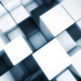 kuber för bakgrund 3d Arkivbilder