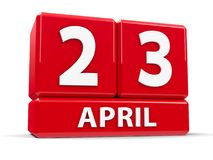 Kuber 23rd April Royaltyfria Foton