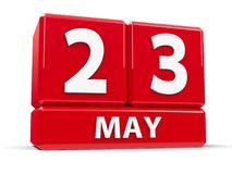 Kuber 23rd May Stock Illustrationer