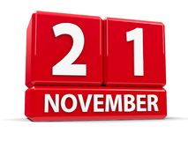 Kuber 21st November Arkivfoto