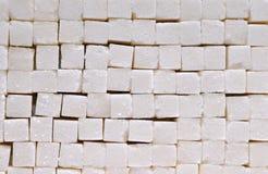 kuber staplat socker royaltyfria foton