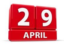 Kuber 29th April Arkivbilder