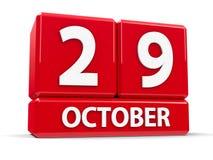 Kuber 29th Oktober Arkivbilder