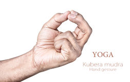 Kubera mudra Royalty Free Stock Photos