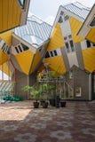 Kubhus är en uppsättning av innovativa hus Royaltyfri Foto