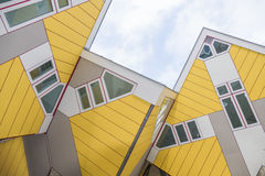 Kubhus i Rotterdam Royaltyfria Foton