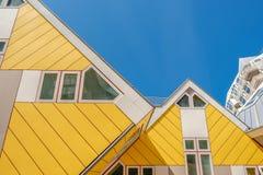 Kubhus i Rotterdam, södra Holland, Nederländerna Royaltyfria Foton