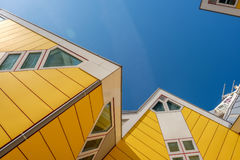 Kubhus i Rotterdam, södra Holland, Nederländerna Royaltyfri Foto
