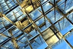 kubiczna przestrzeń Fotografia Stock