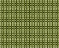 Kubiczny koloru żółtego wzór na metalu Zdjęcia Stock