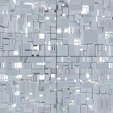 Kubieke abstracte achtergrond Royalty-vrije Stock Afbeelding